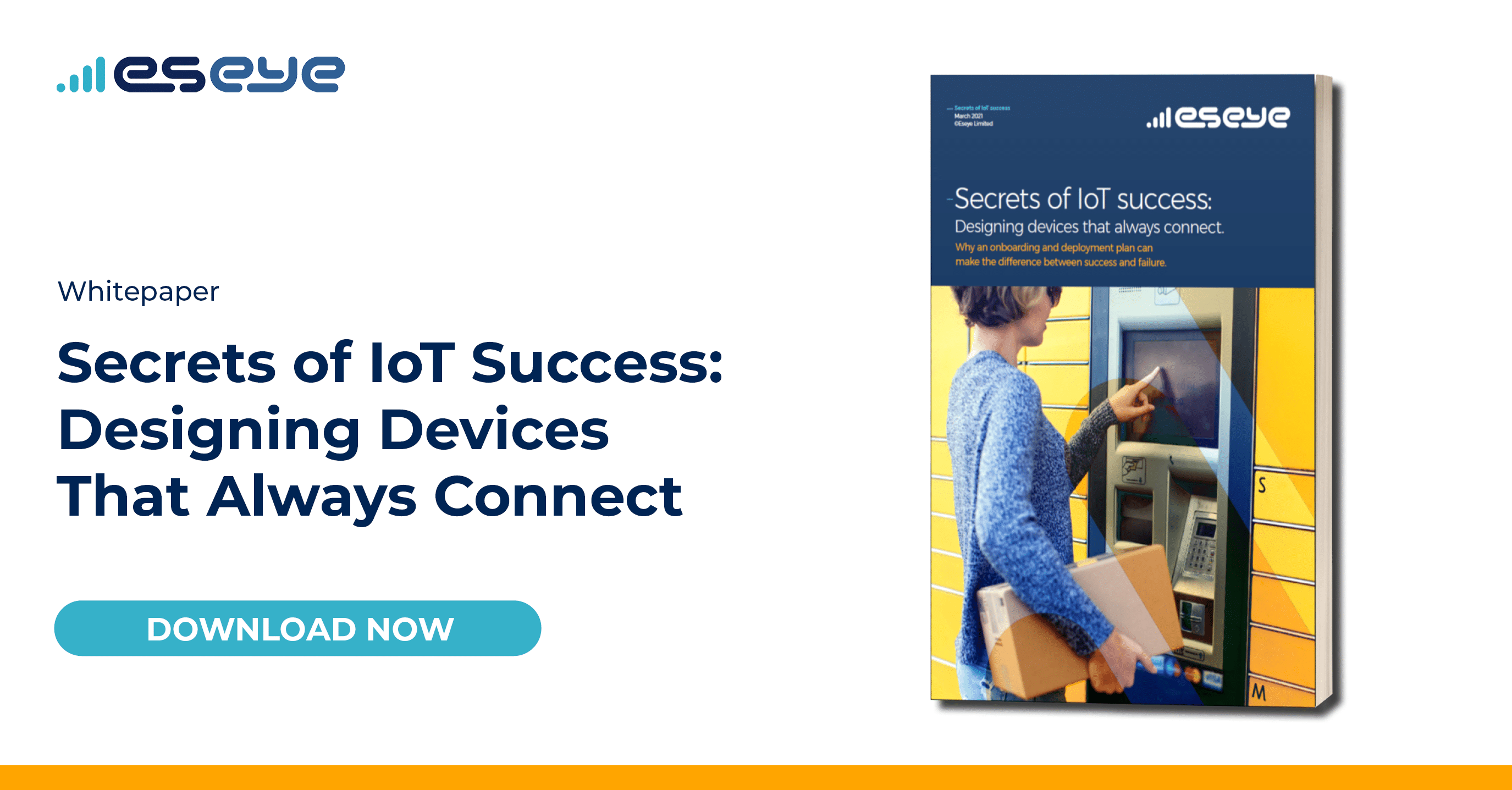 Download the Eseye Secrets to IoT Success Whitepaper